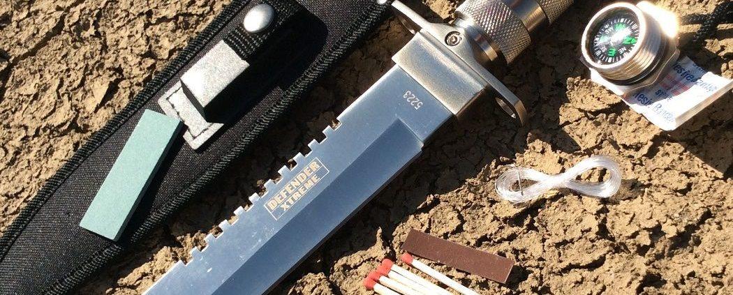 Survival μαχαίρια